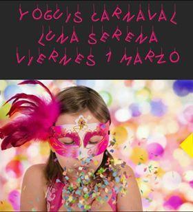 Yoguis Carnaval con Luna Serena