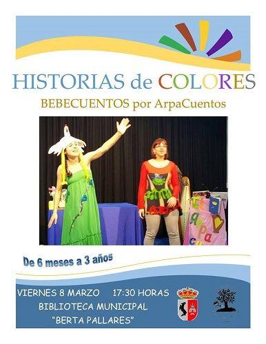 """Bebecuentos con """"Arpacuentos"""" en la Biblioteca de Cabrerizos"""