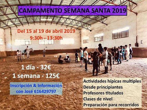 Campamento de Semana Santa en el Centro Ecueste de Salamanca
