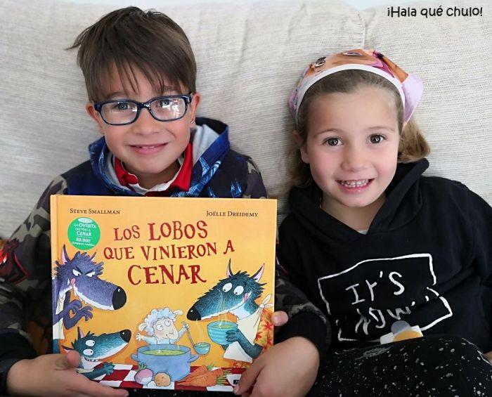 Oliver y Elsa han disfrutado mucho leyéndolo