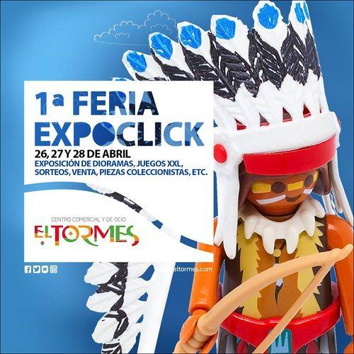 1ª Feria Expoclick en el C.C. El Tormes