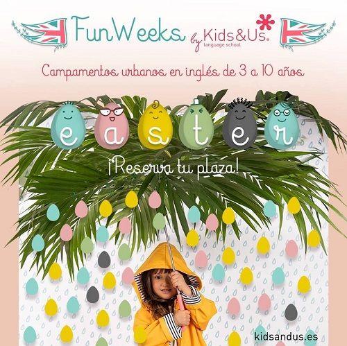 Campamento urbano de Semana Santa en Kids&Us