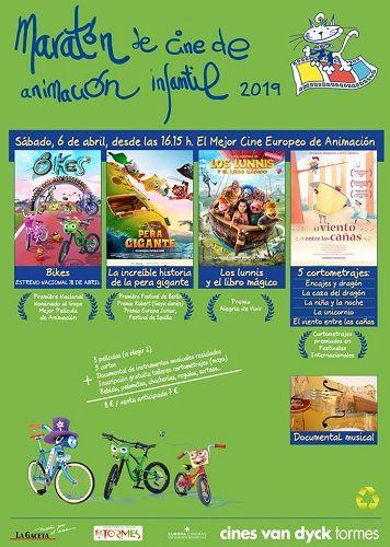 Maratón de Cine de Animación Infantil en Van Dyck Tormes