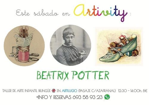Beatrix Potter en el Artivity