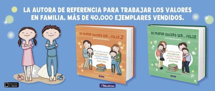 """Anna Morató es la autora de """"De mayor quiero ser... feliz 1 y 2"""""""
