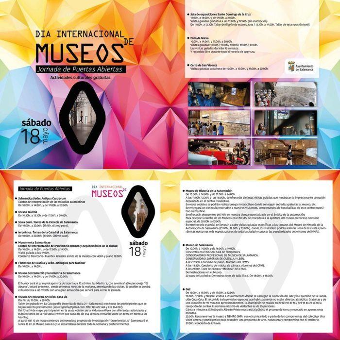 Día de los Museos en Salamanca