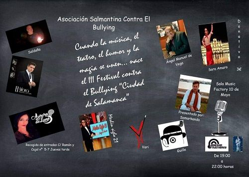 III Festival contra el bullying y ciberbullying en la Sala Music Factory