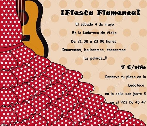 Fiesta flamenca en Vialia