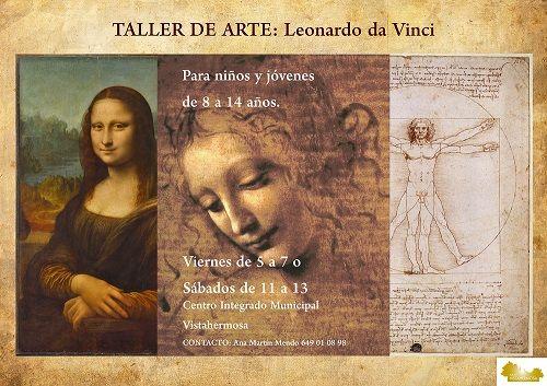 """Taller """"Cuéntame un cuadro"""" con Leonardo da Vinci"""