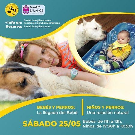 Talleres bebés, niños y perros en Family Balance con Club Baucan