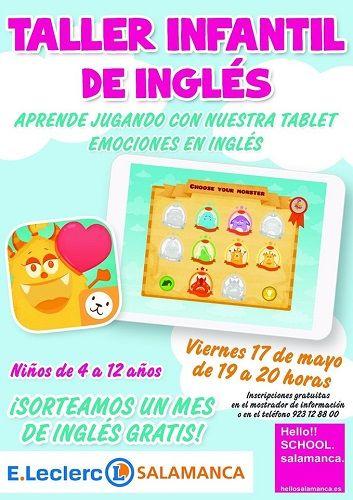 Taller infantil de inglés en E. Leclerc