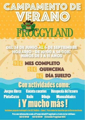 Campamento de verano en Froggyland