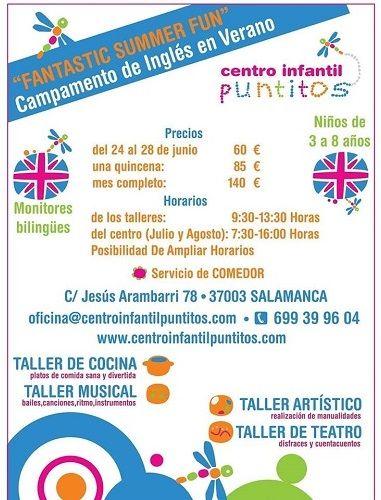 """""""Fantastic Summer Fun"""" en el Centro Infantil Puntitos"""