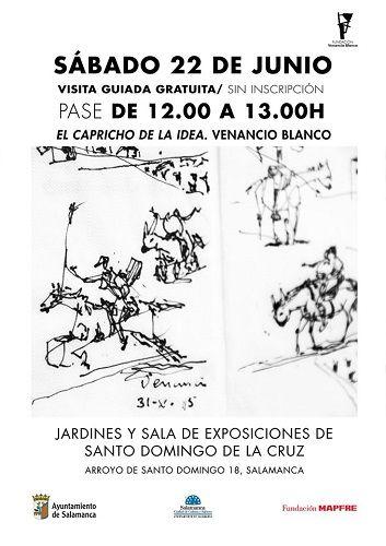 Visita guiada a la exposición de Venancio Blanco