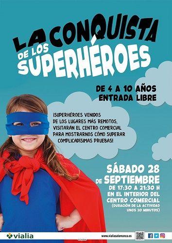 La conquista de los SuperHéroes en Vialia