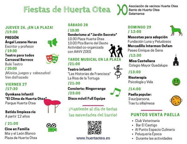 Fiestas del Barrio de Huerta Otea