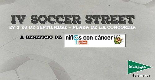 IV Soccer Street en El Corte Inglés a favor de Pyfano