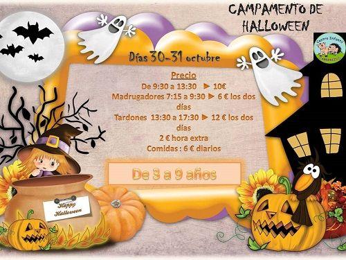 Halloween en el Centro Infantil Cabrerizos
