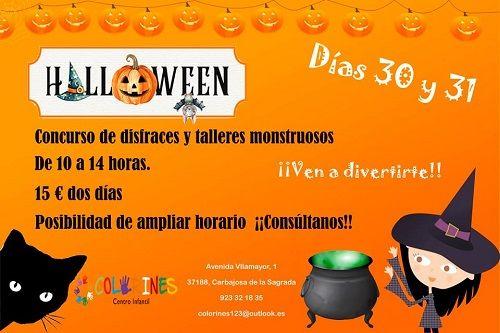Halloween en el Centro Infantil Colorines