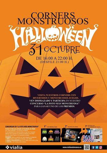 Corners Monstruosos Halloween en Vialia