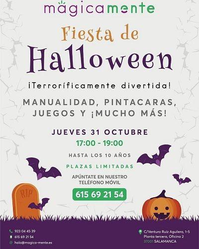 Fiesta de Halloween en Mágicamente