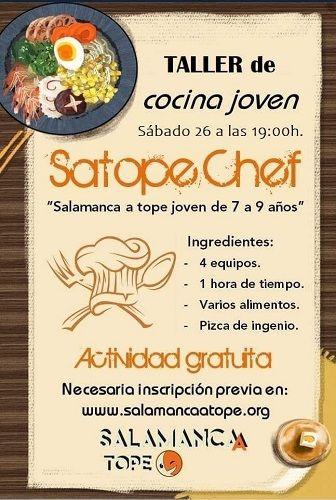 Concurso de cocina joven Satope Chef