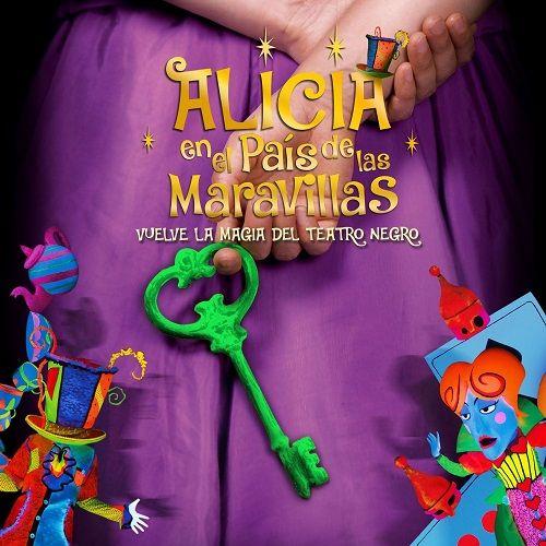 """""""Alicia en el país de las maravillas"""" en un espectáculo de teatro negro en el Liceo"""