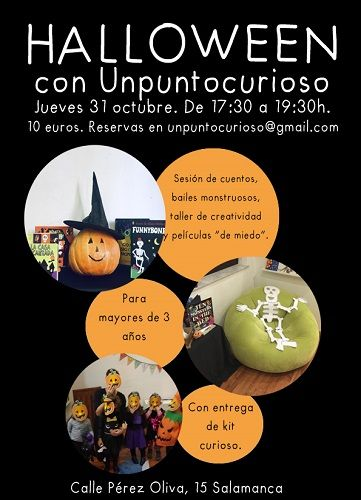 Unpuntocurioso se viste de Halloween