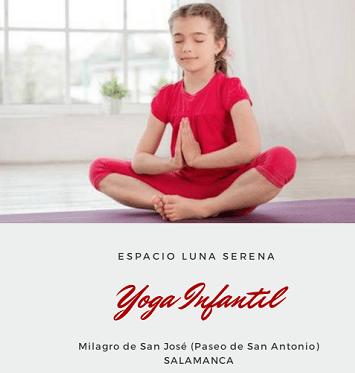Yoga infantil en el Espacio Luna Serena