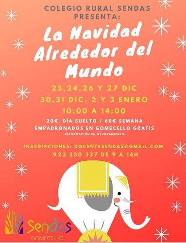 Campamento de Navidad en el Colegio Rural Sendas