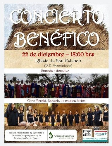 Concierto a beneficio de la Fundación Carpio Pérez