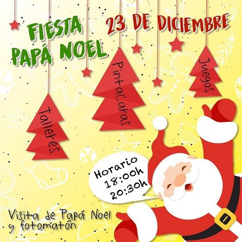 Fiesta de Papá Noel en La Piñata Charra