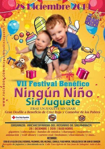 "VII Festival Benéfico ""Ningún niño sin juguete 2019"""