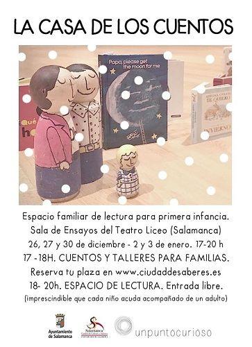 """""""Casa de los Cuentos"""" con Unpuntocurioso en el Liceo"""