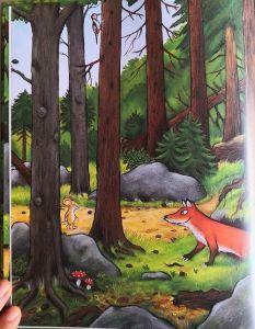El zorro conversa con el ratón