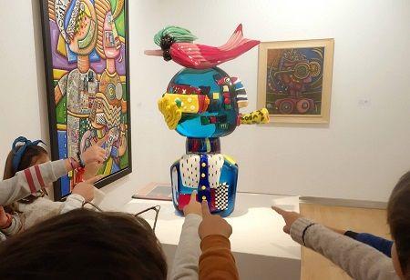 """Taller infantil """"Con el arte sí se juega"""" en el DA2"""