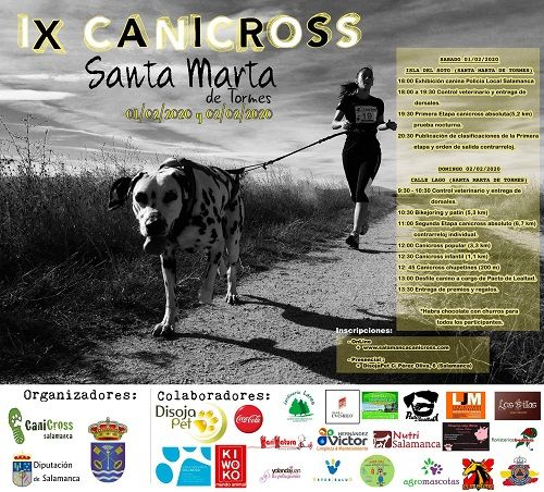 I Jornada de Canicross Provincial en Santa Marta