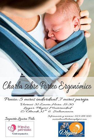 Taller de porteo ergonómico en Physos Maternidad