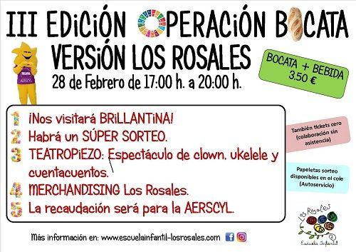 III Operación Bocata Versión Los Rosales
