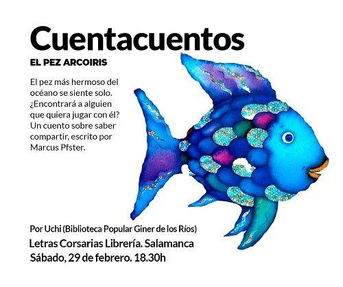 """Cuentacuentos de """"El Pez Arcoiris"""" en Letras Corsarias"""