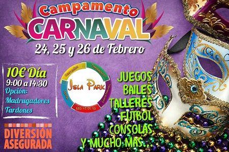 Campamento de Carnaval en Isla Park