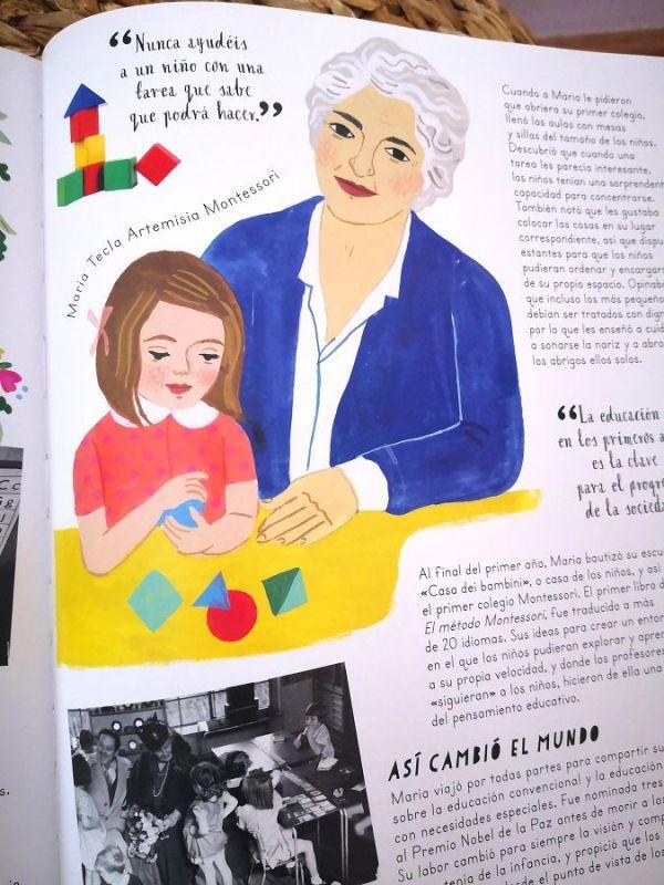 María Montessori, médica y profesora que revolucionó la educación