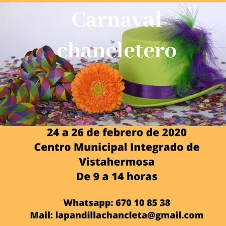Carnaval con La Pandilla Chancleta