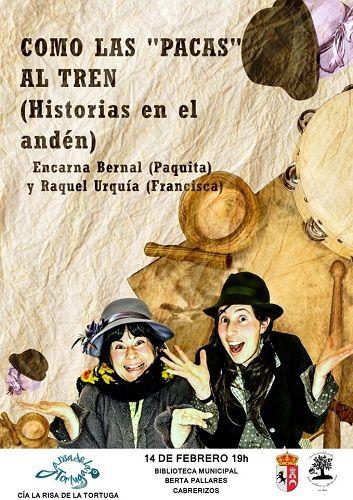 Teatro familiar en la biblioteca de Cabrerizos
