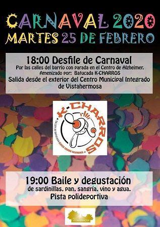 Desfile de Carnaval en Vistahermosa