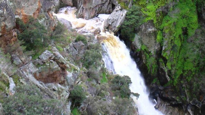 Disfruta del Cachón de Camaces en la excursión a las Cascadas del Sur de Arribes del Duero