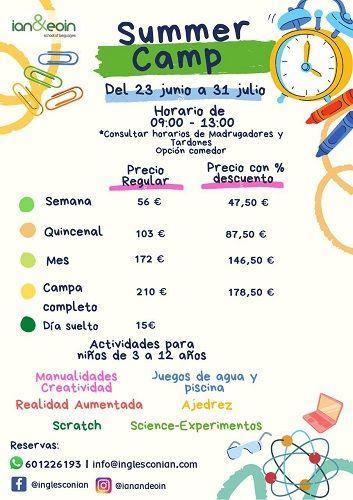 Summer Camp en Ian & Eoin School of English