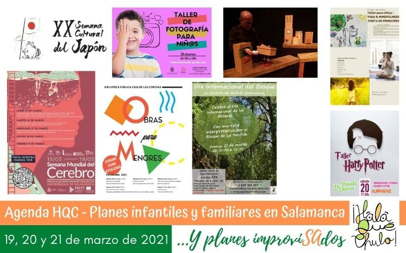 Agenda de planes con niños en Salamanca