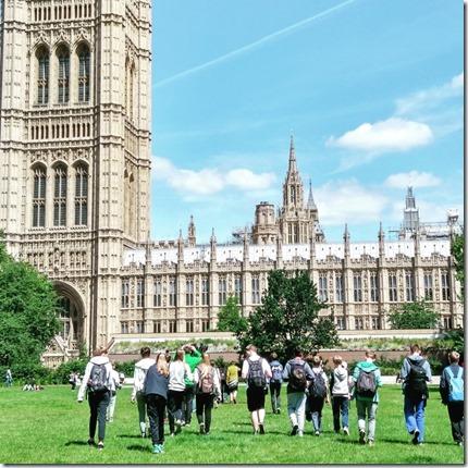 Gartenparty beim Buckingham Palace. London #4 5