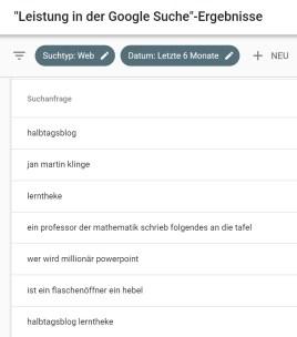 Wie man sein Blog für Google optimiert - und was das am Ende bringt. 4